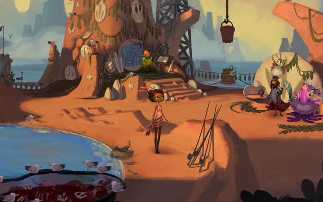 Broken Age - Adventure Game