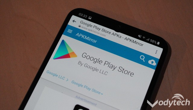 Download the latest version of Google Play Store
