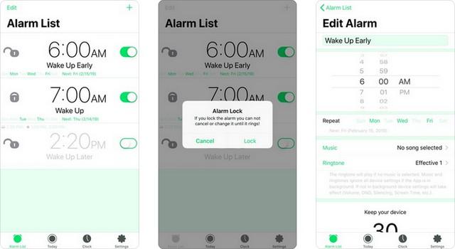 Motion Alarm Clock