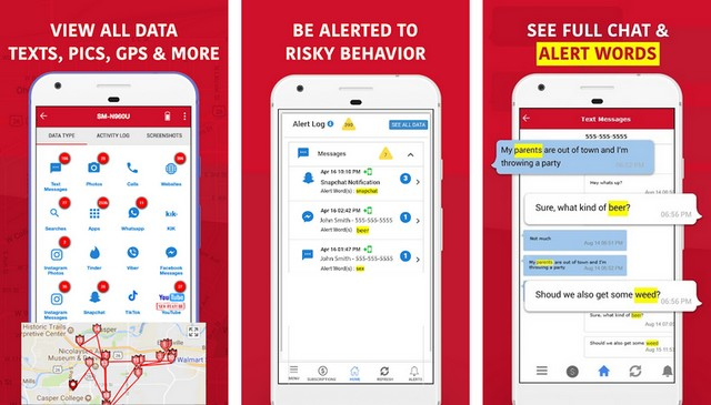 WW Phone Tracker Parent App