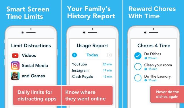 unGlue - Parental Control App