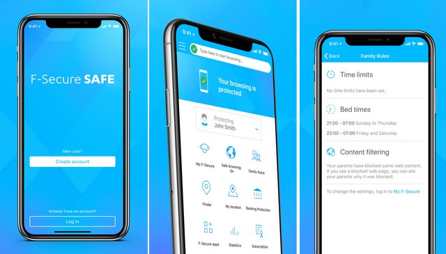 F-Secure Safe - Antivirus for iPhone