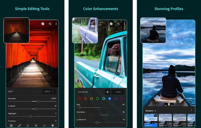Adobe Lightroom CC - Photo Editor