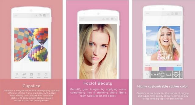 Cupslice - Best Photo Editing App