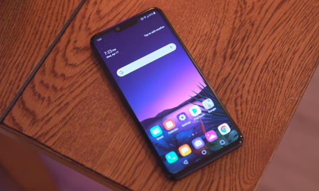 How to take a screenshot on the LG G8