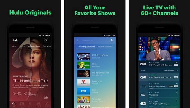 Hulu - Chromecast Apps