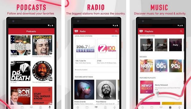 iHeartRadio - Chromecast Apps