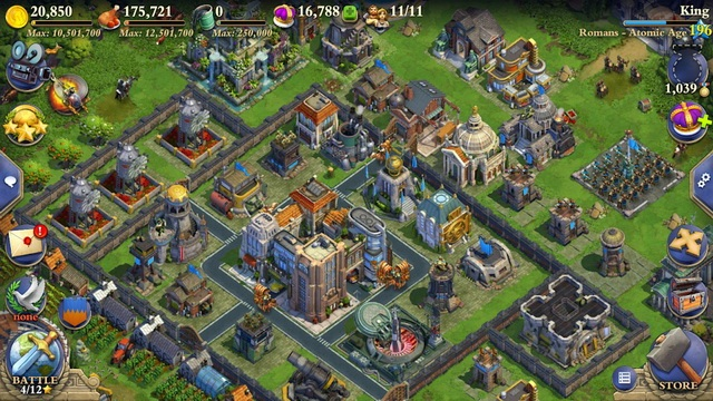 DomiNations - Kingdom Building Game