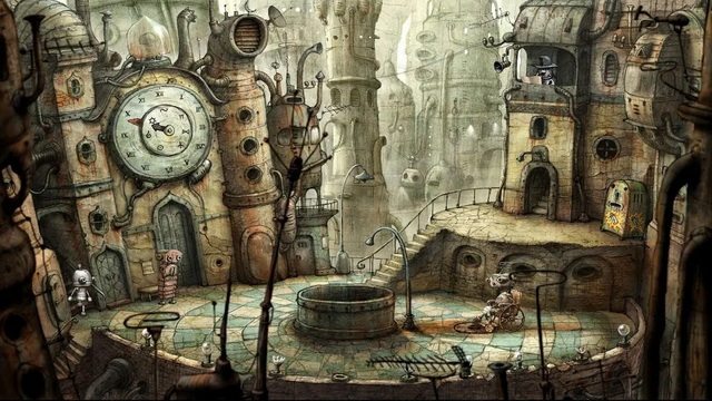 Machinarium Demo - Puzzle Game