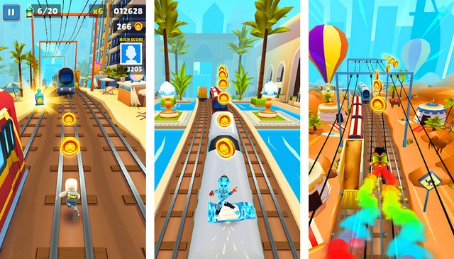 Subway Surfers - Game like Temple Run