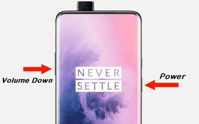 Take a Screenshot on the OnePlus 7 Pro