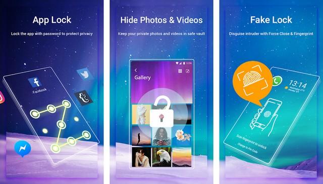AppLock Aurora - AppLocks apps for Android
