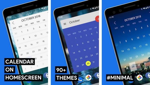 Calendar Widget - Android Widget