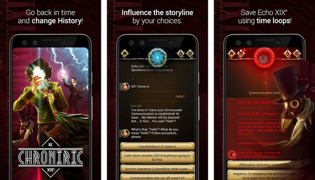 Chroniric - Adventure Game for Android