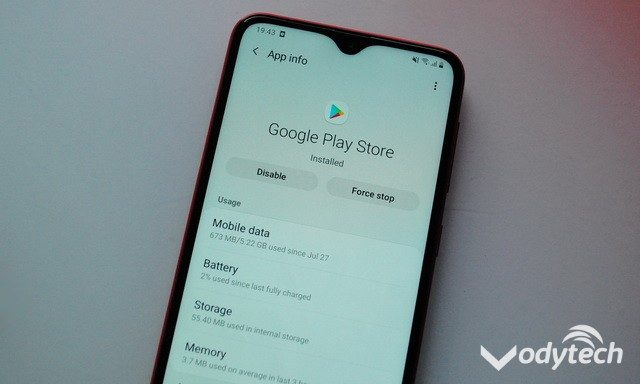 How to Clear Search History in the Google Play Store