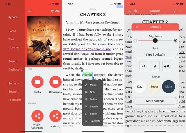KyBook 2 - Ebook Reader