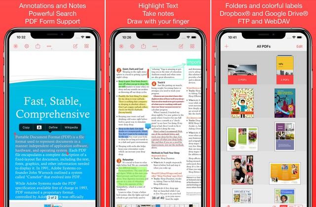 PDF Pro 3 - PDF Reader App for iPhone