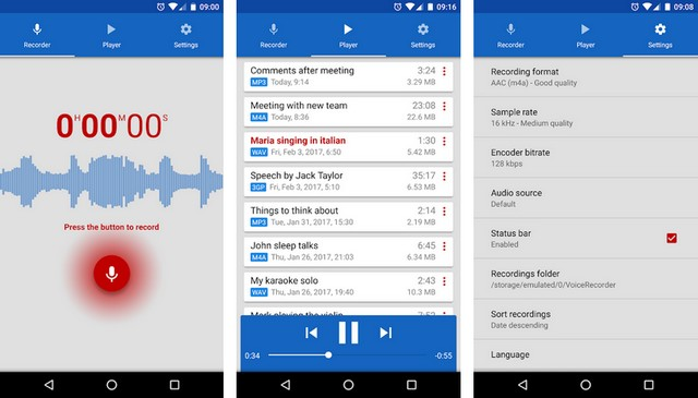 Voice Recorder by Splendid Apps