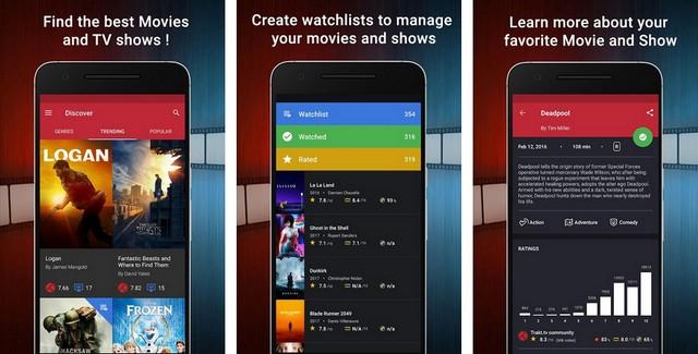 CineTrak - Movie App
