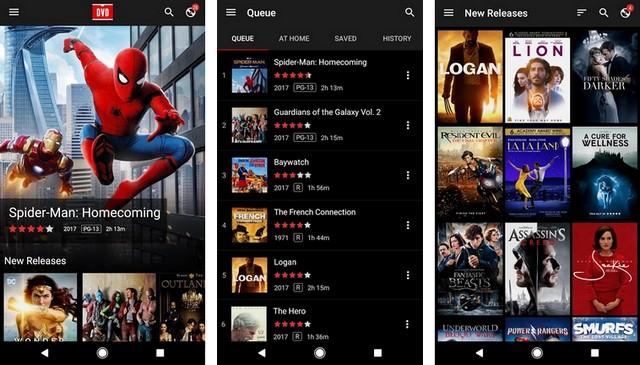 DVD Netflix - Movie App