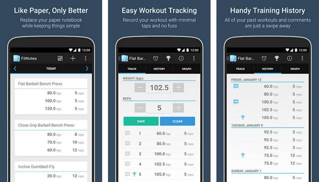 FitNotes - Fitness App