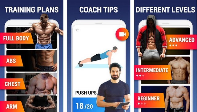 Home Workout - Health App