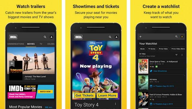 IMDb Movies - Movie App