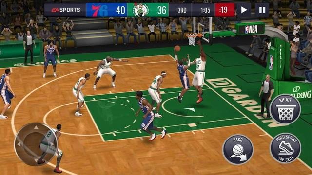 NBA Live Mobile - Basketball game
