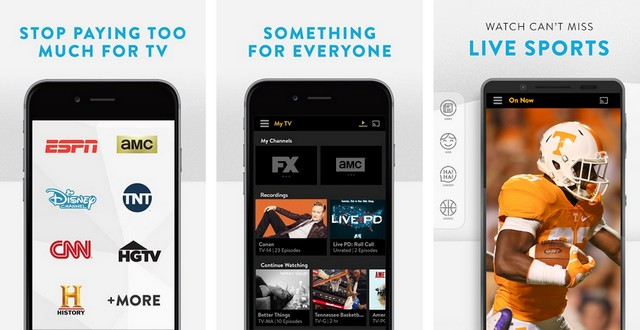 Sling TV - video streaming app