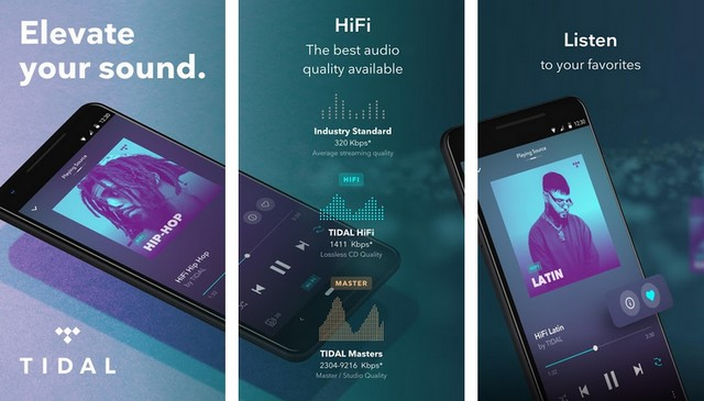 TIDAL - Music Streaming App