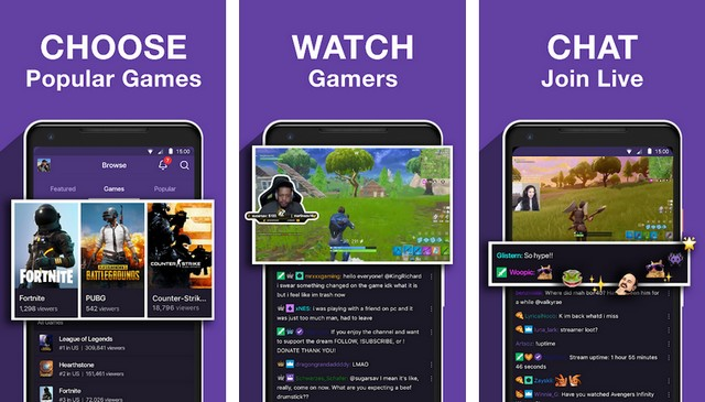 Twitch - video streaming app