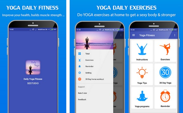 Yoga Daily Fitness