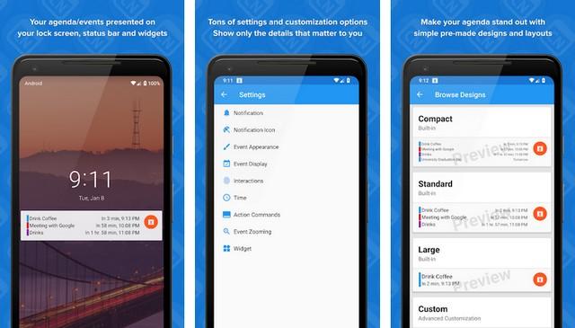 Calendar Notify - Best Calendar App for Android