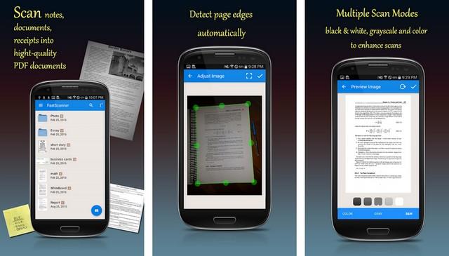 Fast Scanner - document scanner app