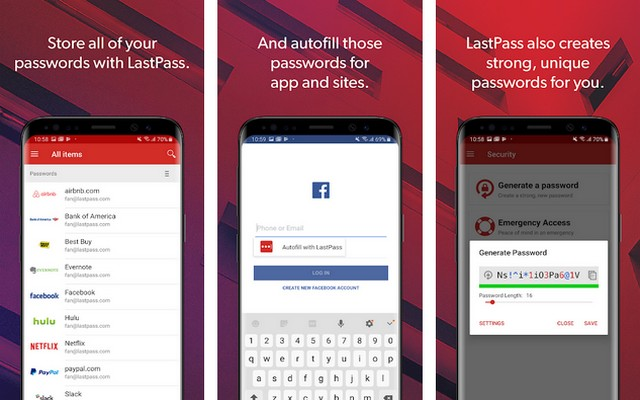 LastPass - App for Samsung Galaxy S10