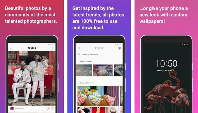 Pexels - wallpaper app