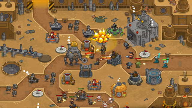 Steampunk Defense - Tower Defense Game
