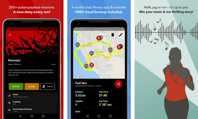 Zombies, Run - Running App