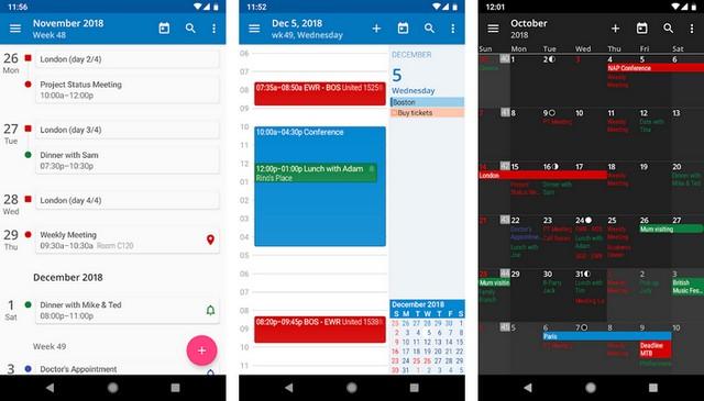 aCalendar - Best Calendar App for Android