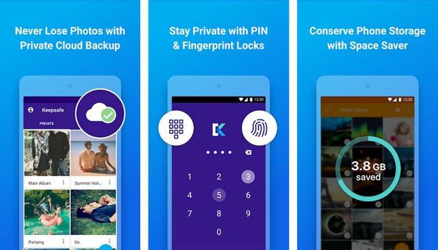 Keepsafe Photo Vault - best gallery vault app