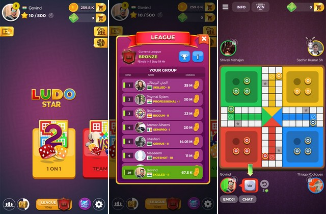 Ludo Star - Board game
