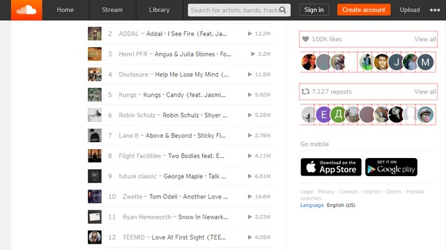 SoundCloud - Best free music download site