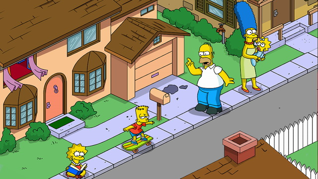 The Simpsons - Best Celebrity Game