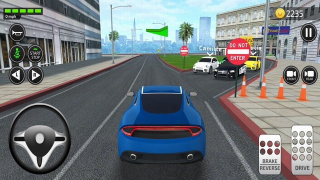 Driving Academy 2019 Simulator Game