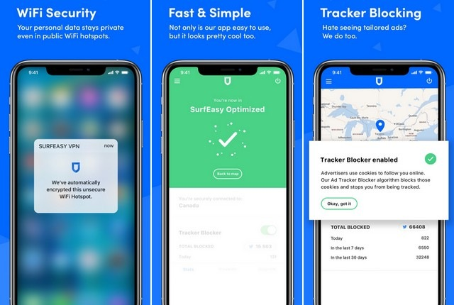 SurfEasy VPN - Best Security App