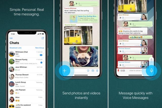 WhatsApp - Best Video Chat App