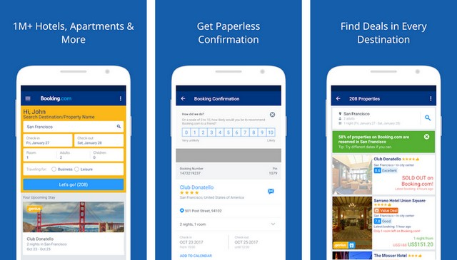 Booking - Best Travel App