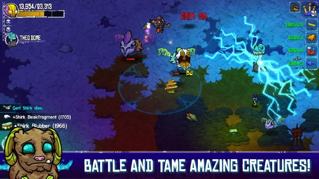 Crashlands - Best Android Tablet Game