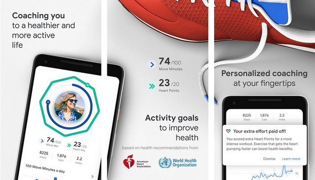 Google Fit - Best Fitness Tracker App