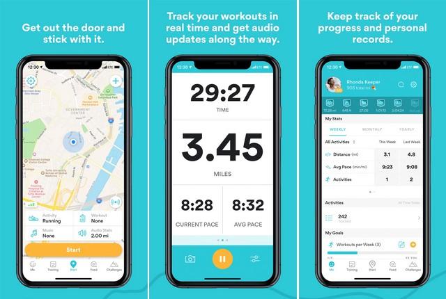 RunKeeper - Fitness App
